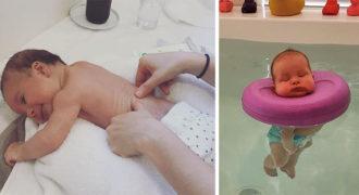 Υπάρχει σπα για μωρά και το διαδίκτυο έχει ξετρελαθεί με αυτές τις φωτογραφίες